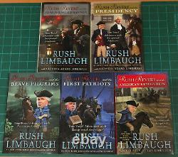 RUSH REVERE 5 Volume Complete Set Collection by Rush Limbaugh BRAND NEW