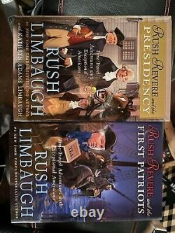 RUSH REVERE Complete Hardcover Set Collection Rush Limbaugh BRAND NEW