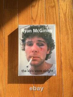 RYAN MCGINLEY THE KIDS WERE ALRIGHT Brand New Photobook supreme larry clark