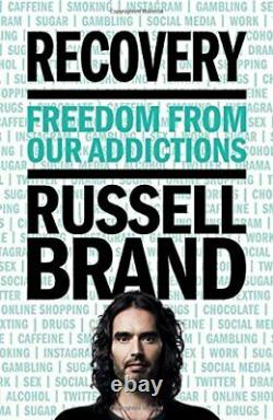 Recovery Freedom From Our Addictions by Brand, Russell Book The Fast Free
