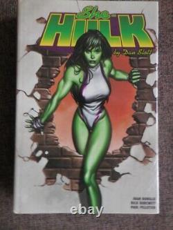 SHE-HULK OMNIBUS BRAND NEW & SEALED Dan Slott Hardcover Marvel OOP
