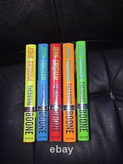 SIGNED Full Set of 7 Theodore Boone John Grisham 1st/1st $239 Brand New