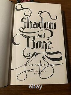 SIGNED Shadow and Bone by Leigh Bardugo Hardcover 1st EDITION Brand NEW