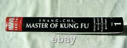 Shang-Chi Master Of Kung Fu Volume 1 Marvel Omnibus Brand New Hard Cover Sealed