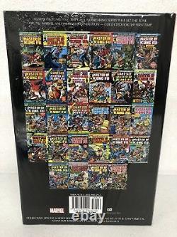 Shang Chi Master of Kung Fu Volume 1 Omnibus Marvel HC Brand New Sealed $125