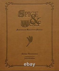 Spice and Wolf Anniversary Collector's Edition Brand New Non Numbered Confirmed