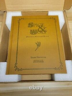 Spice and Wolf Anniversary Collectors Edition Hardcover Novel BRAND NEW
