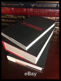 Stephen King Custom Gift Set Brand New Hardbacks The Green Mile IT & Gunslinger