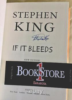 Stephen King Signed If It Bleeds 1st/1st Brand New Autograph Copy