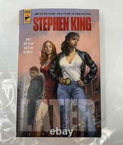 Stephen King Signed Later Limited Edition Numbered /374 Autograph Brand New Book
