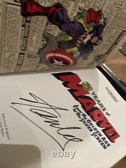 TASCHEN 75 Years of Marvel Comics BRAND NEW - SIGNED By Stan Lee