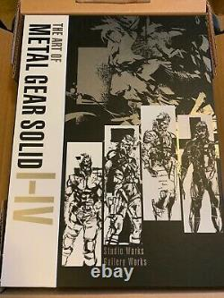 THE ART OF METAL GEAR SOLID I-IV HC Aug, 2018 Brand New in Box Dark Horse
