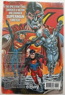 THE DEATH AND RETURN OF SUPERMAN OMNIBUS HC Sealed Brand New OOP