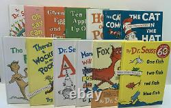 TRULY COMPLETE DR. SEUSS COLLECTION SET 59 Brand New Dr. Seuss Books withLUNCH BOX