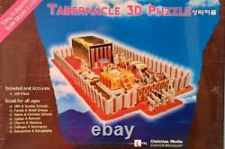 Tabernacle 3D Puzzle 119 Pieces Christian Media For All Ages Brand New Sealed
