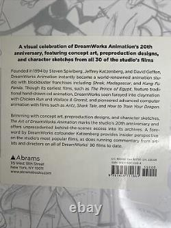 The Art of DreamWorks Animation by Ramin Zahed Brand New Factory Sealed Book