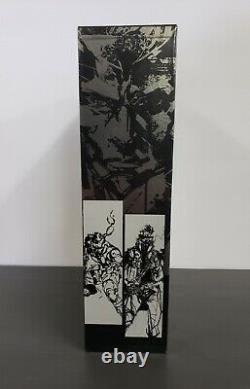 The Art of Metal Gear Solid Book 1-4 Studio and Gallery Works BRAND NEW SEALED