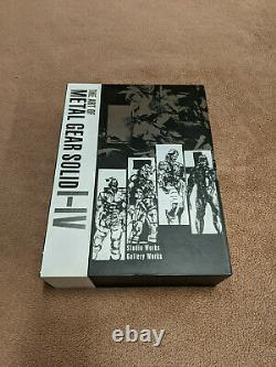 The Art of Metal Gear Solid I-IV (Hardcover) BRAND NEW
