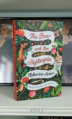 The Bear And The Nightingale, UK Hardcover, Katherine Arden, Brand New