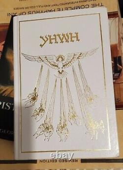 The Book Of Knowledge The Keys Of Enoch YHWH Brand New, White & Gold Color