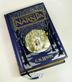 The Chronicles of Narnia By C. S. Lewis Bonded Leather BRAND NEW