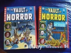 The Complete Vault of Horror hardcover (5 volume set) Brand New