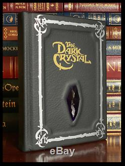 The Dark Crystal Novelization Brand New Hand Leather Bound Gift Deluxe Hardcover