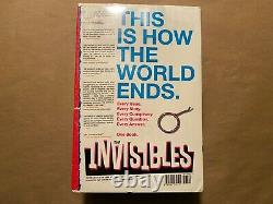 The Invisibles Omnibus Grant Morrison Hardcover Brand New Free Shipping English