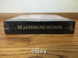 The James Bond Archives Hardcover Brand New Sealed