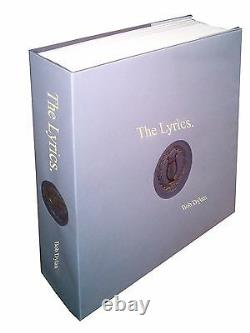The Lyrics by Bob Dylan (2014, Hardcover), Brand New Gift Quality Book