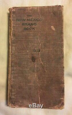 The New Mexico Brand Book 1915