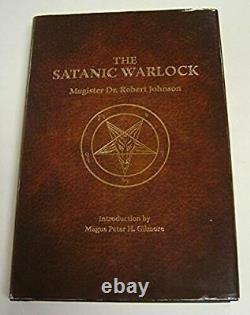 The Satanic Warlock HARDCOVER BRAND NEW UNOPENED