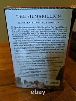 The Silmarillion, Deluxe, Illustrated Edition, Brand New in plastic