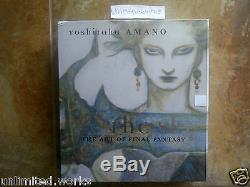 The Sky The Art of Final Fantasy Slipcased Edition by Yoshitaka Amano Brand New