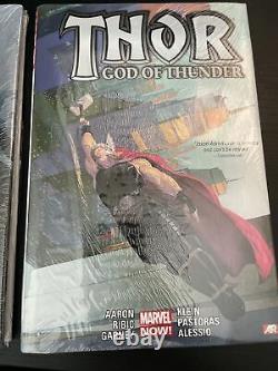 Thor God of Thunder Vol 1 & 2 Hardcover Oversized Jason Aaron Marvel Brand New