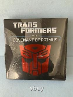 Transformers The Covenant of Primus by Justina Robson Brand NEW! Still Sealed