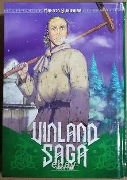 Vinland Saga Hard Cover Vol. 1-11 English Manga Graphic Novel Brand New Set