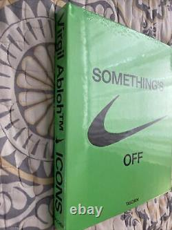 Virgil Abloh ICONS Somethings Off Book Nike Off-White Brand New Sealed