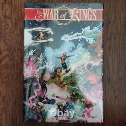 WAR OF KINGS OOP Marvel Comics OMNIBUS BRAND NEW SEALED HC Hardcover