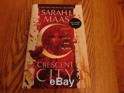 WATERSTONES Exclusive Sarah J Maas CRESCENT CITY SPRAYED EDGES BRAND NEW