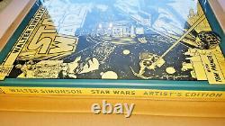 Walter Simonson Star Wars Artist's Edition BRAND NEW SEALED IDW LARGE HC BOOK