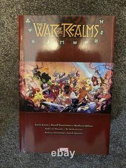 War of the Realms Omnibus by Jason Aaron Brand New, Unread, But Not Sealed