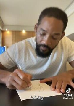 Will Smith SIGNED Book Hardback Fresh Prince Of Bel-Air Pre Order Brand New
