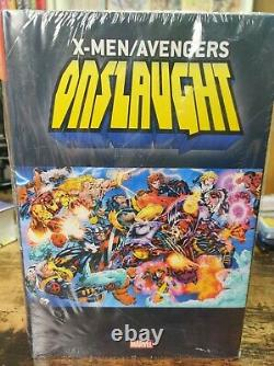 X-Men & Avengers Onslaught Omnibus Hardcover Brand New Sealed