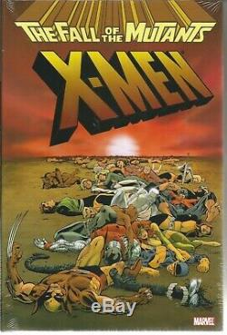 X-Men Fall of the Mutants Omnibus Hardcover OOP Rare BRAND NEW IN SHRINK WRAP