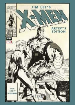 X-Men Jim Lee Artist's Edition HARDCOVER main cover A BRAND NEW IDW MARVEL 2021