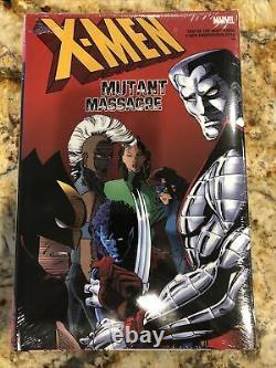 X-Men Mutant Massacre Omnibus Marvel Hardcover RARE OOP Brand New! Sealed