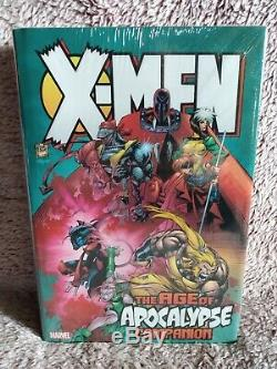 X-men Age Of Apocalypse Companion Omnibus Marvel Hc Brand New Factory Sealed