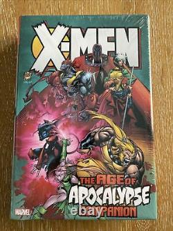 X-men Age Of Apocalypse Companion Omnibus Marvel Hc Brand New Factory Sealed Oop