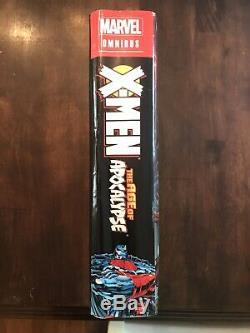 X-men Age Of Apocalypse Omnibus Brand New Sealed Oop Marvel Comics